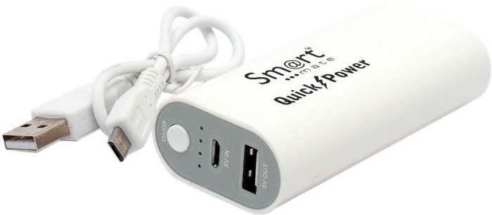 Best price on Smartmate SMP004 Quick Power 5200mAh Power Bank in India