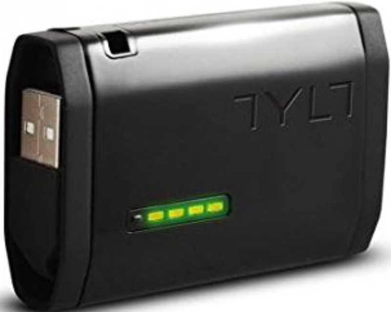Best price on Tylt Zumo 1500mAh Power Bank (with Built-In Apple 30 Pin Cable Cable) in India