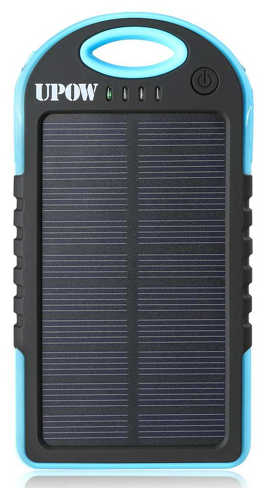 Best price on Upow 5000mAh Solar Power Bank in India
