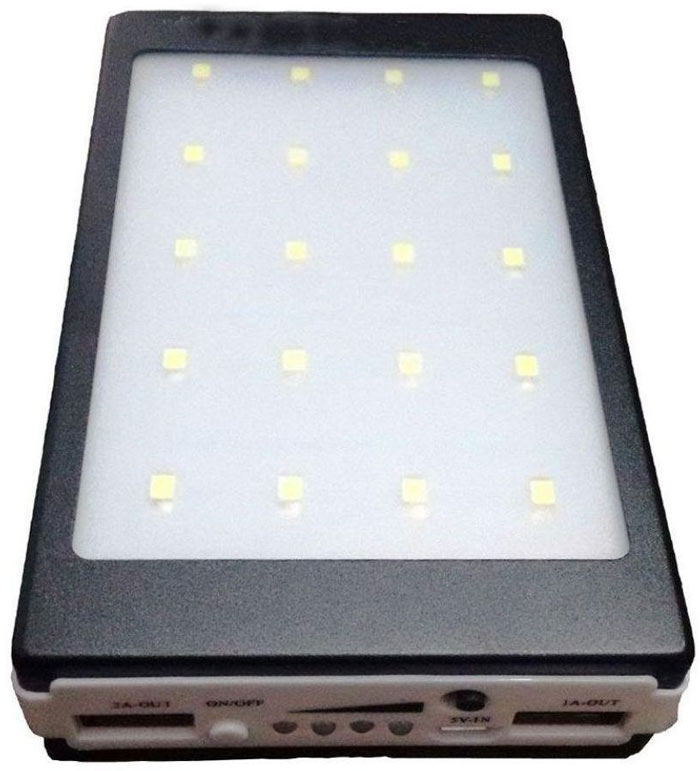 Best price on Wakky WB 10000mAh Solar Power Bank in India