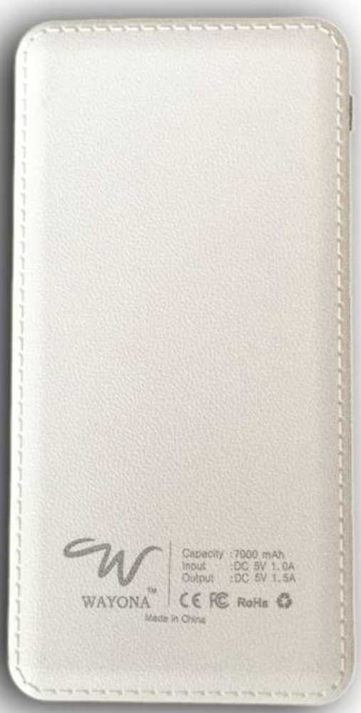 Best price on Wayona W4 7000mAh Power Bank in India