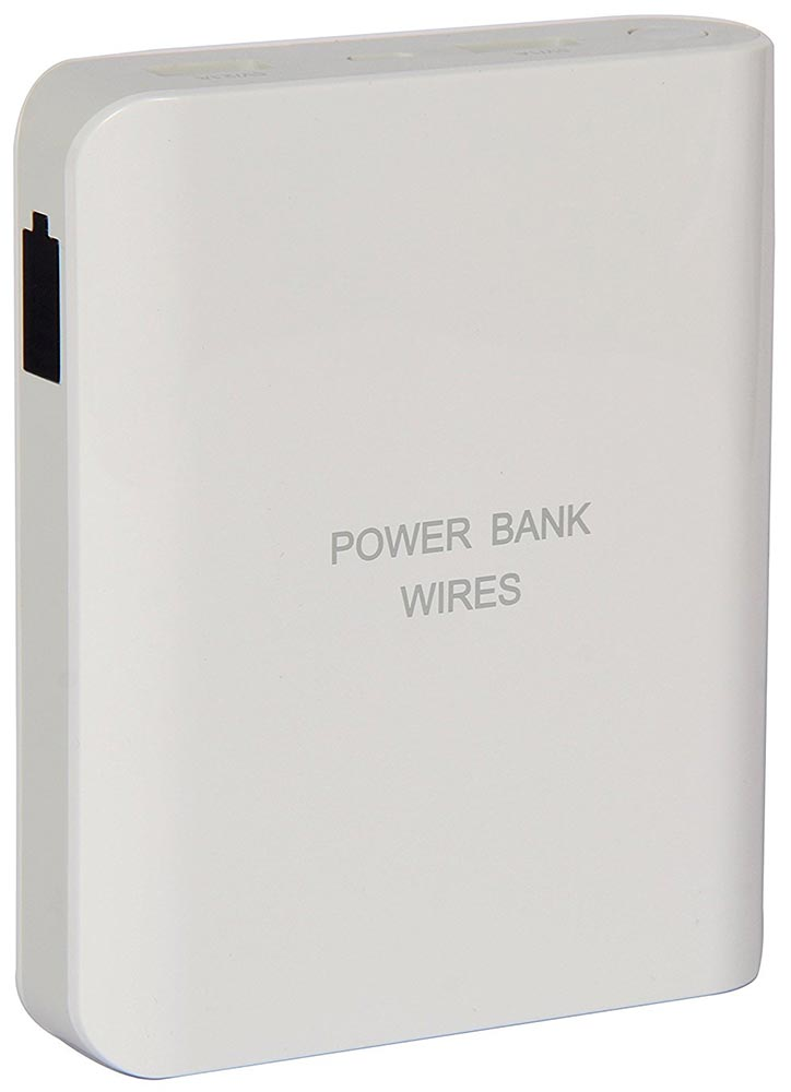 Best price on Wires AL-202 10000mAh Power Bank in India