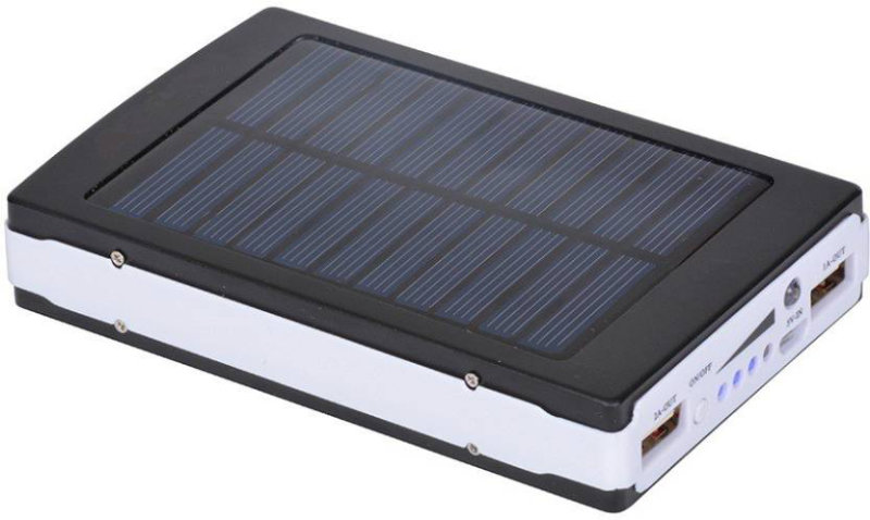 Best price on Xodas SL-12 Solar With 20 Led Light Panel 10000 mAh Power Bank in India
