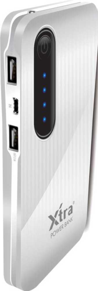 Best price on Xtra Star Power 10000mAh Power Bank in India