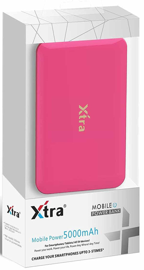 Best price on Xtra XT-05001 5000mAh Power Bank in India