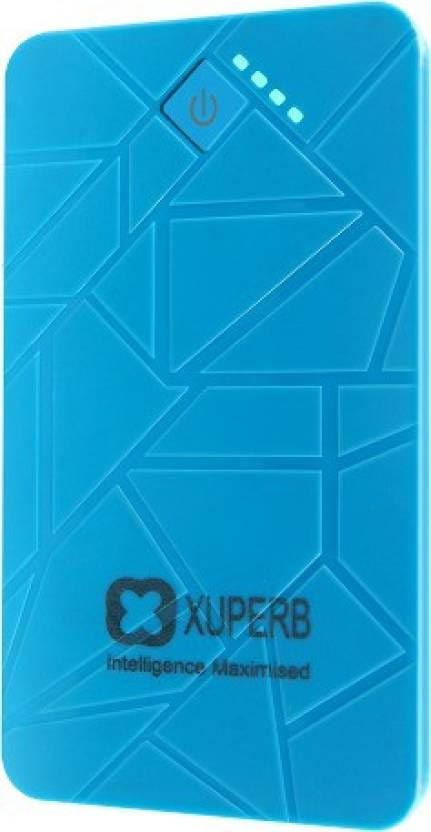 Best price on Xuperb Poly-Slate-50 5000mAh Power Bank in India