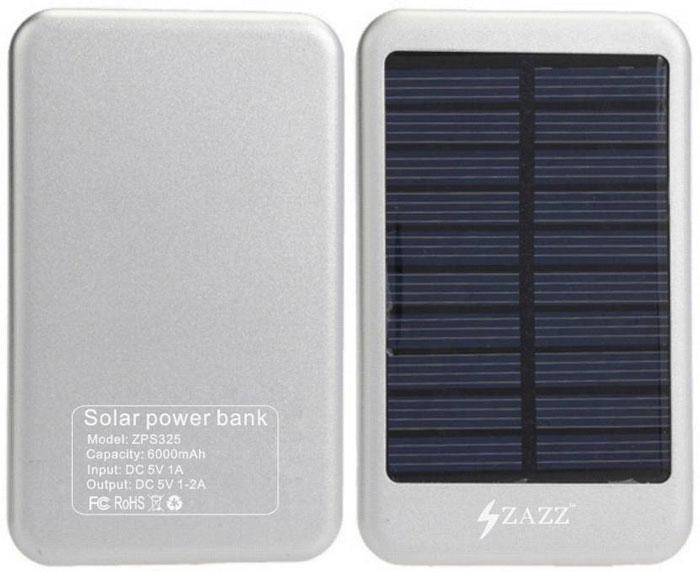 Best price on Zazz ZPS325 6000mAh Solar Power Bank in India