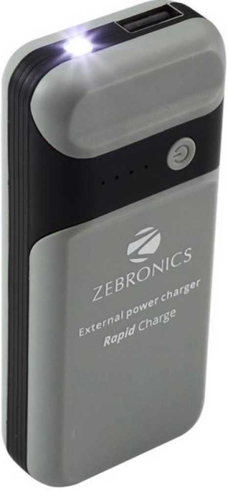 Best price on Zebronics PG4000L1 4000mAh Power Bank in India