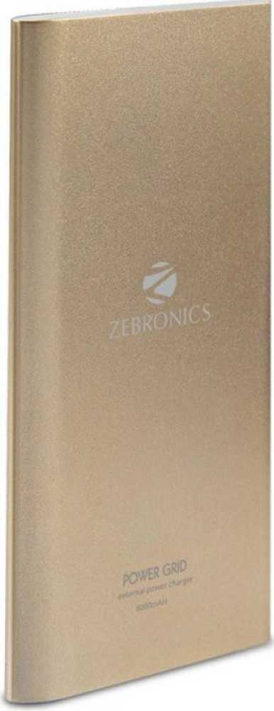Best price on Zebronics PG8000 8000mAh Power Bank in India