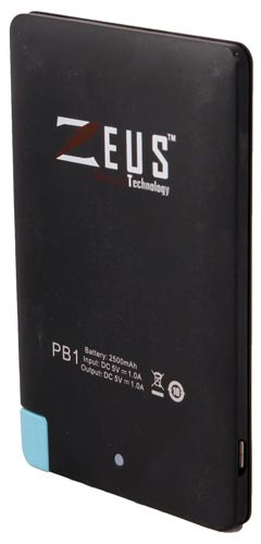 Best price on Zeus PB1 2500mAh Power Bank in India
