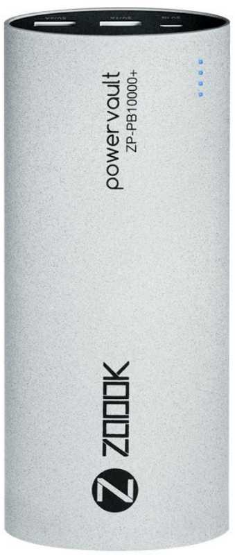 Best price on Zoook ZP-PB-10000P 10000mAh Power Bank in India