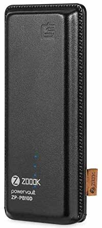 Best price on Zoook ZP-PB10DA 10000mAh Power Bank in India