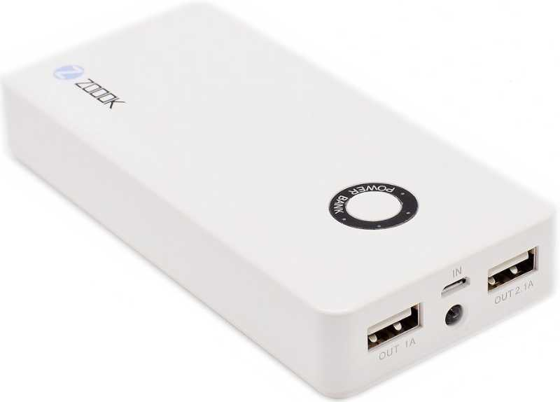 Best price on Zoook ZP-PB5000 5000mAh Power Bank in India