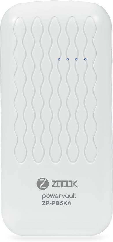 Best price on Zoook ZP-PB5KA 5000mAh Power Bank in India