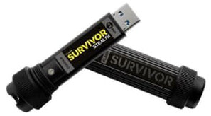Best price on Corsair Flash Survivor Stealth 128GB USB 3.0 Pen Drive in India