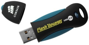 Best price on Corsair Flash Voyager 128GB USB 3.0 Pen Drive in India
