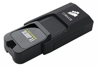 Best price on Corsair Flash Voyager Slider X1 64GB USB 3.0 Pen Drive in India