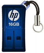 Best price on HP V 165 W 16GB Pen Drive - Front in India