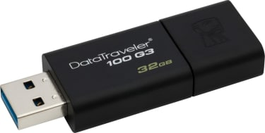 Best price on Kingston DataTraveler 100 G3 32GB Pen Drive in India
