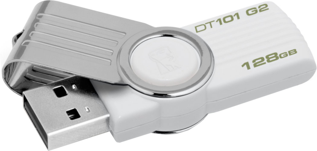 Best price on Kingston DataTraveler 101 G2 128GB Pen Drive in India