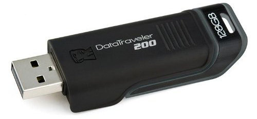 Best price on Kingston Data Traveler 200 128 GB Pen Drive in India
