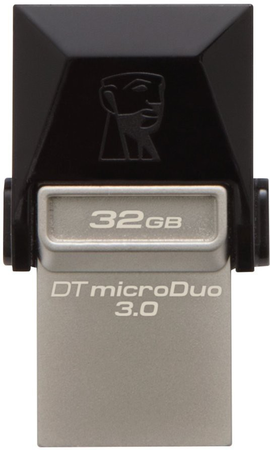 Best price on Kingston Data Traveler MicroDuo USB 3.0 32GB OTG Pen Drive in India