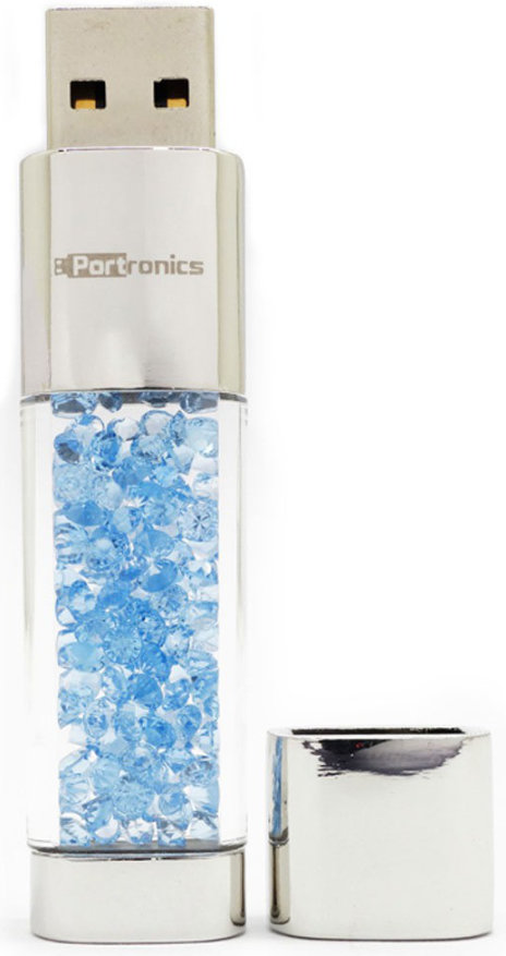 Best price on Portronics Crystal Bar POR 495 16 GB Pen Drive in India