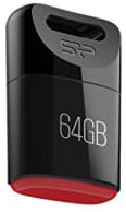 Best price on Silicon Power Touch T06 64GB Pen Drive in India