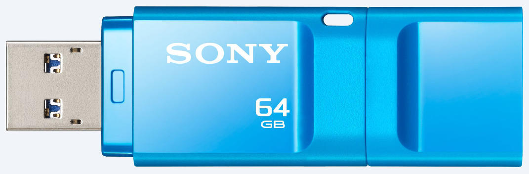 Best price on Sony Micro Vault Entry (USM64X) USB 3.0 64GB Pen Drive in India