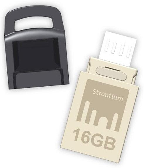 Best price on Strontium OTG Nitro 16GB USB 2.0 Pen Drive in India