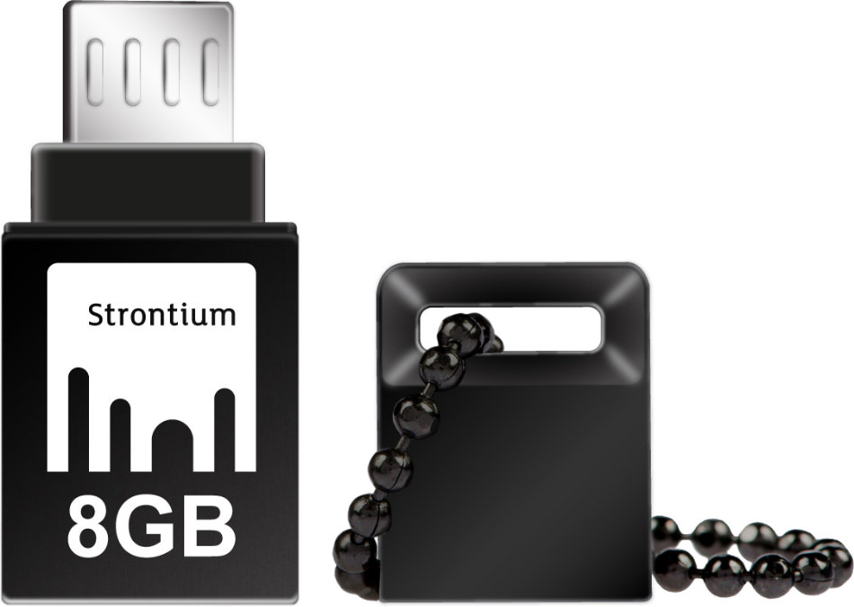 Best price on Strontium OTG Nitro 8GB USB 3.0 Pen Drive in India