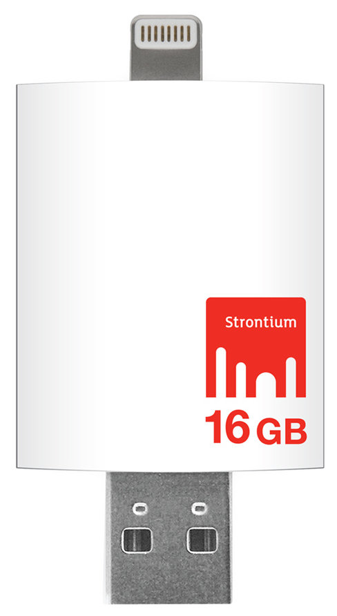 Best price on Strontium Nitro iDrive USB 3.0 16GB OTG Pen Drive in India