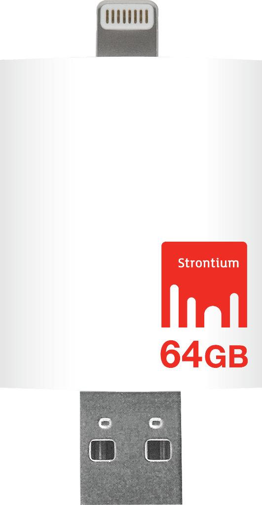 Best price on Strontium Nitro iDrive USB 3.0 64 GB OTG Pen Drive in India