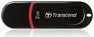 Best price on Transcend JetFlash 300 2GB USB 2.0 Pen Drive in India