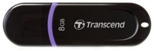 Best price on Transcend JetFlash 300 8GB Pen Drive in India