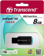 Best price on Transcend Jet Flash 360 8GB Pen Drive - Top in India