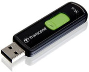 Best price on Transcend JetFlash 500 16GB Pen Drive - Front in India