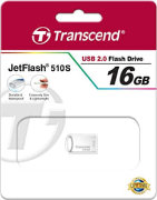Best price on Transcend JetFlash 510 16GB Pen Drive - Side in India