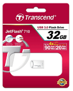 Best price on Transcend JetFlash 710 32 GB Pen Drive - Side in India