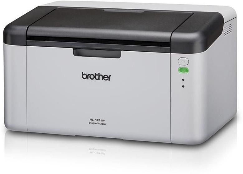 Best price on Brother HL-1211W Single Function Mono Laser Printer in India
