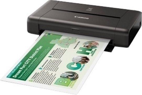 Best price on Canon PIXMA iP110 Single Function Inkjet Printer in India