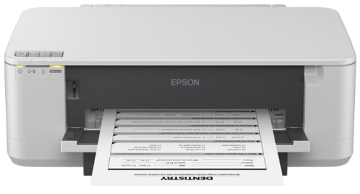 Best price on Epson K100 Single Function Mono Inkjet Printer in India