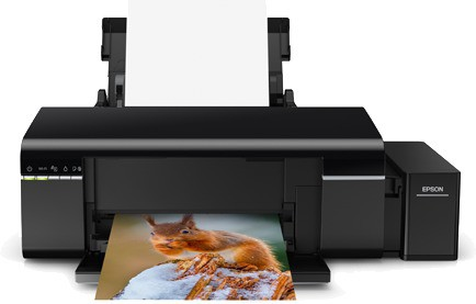 Best price on Epson L805 Colour Inkjet Printer in India