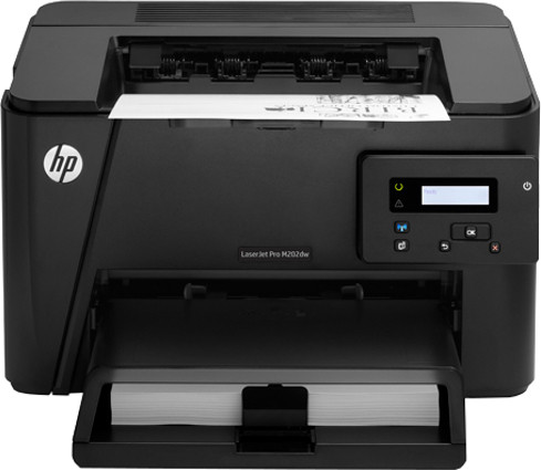Best price on HP LaserJet Pro M202dw Single Function Printer in India