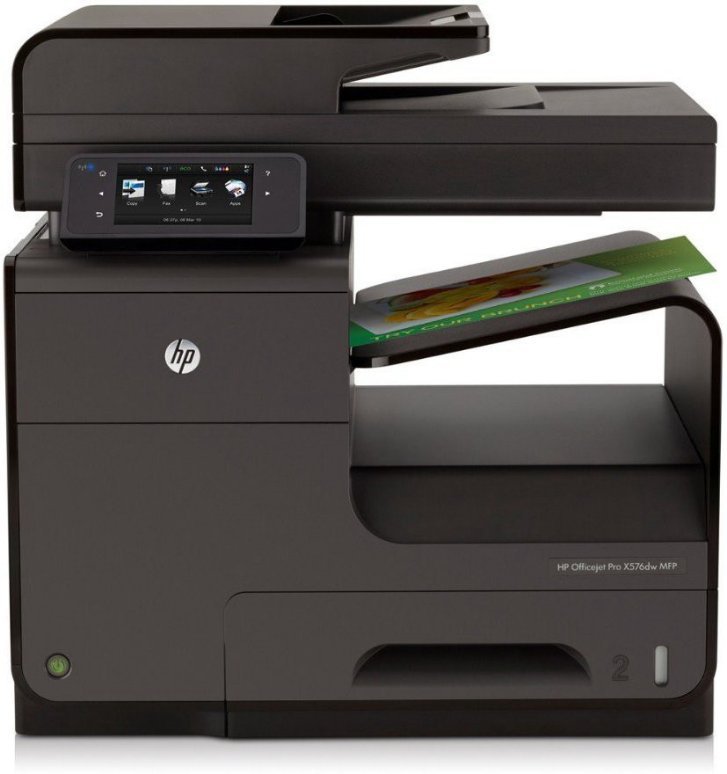 Best price on HP Officejet Pro X576dw All in one Inkjet Printer in India