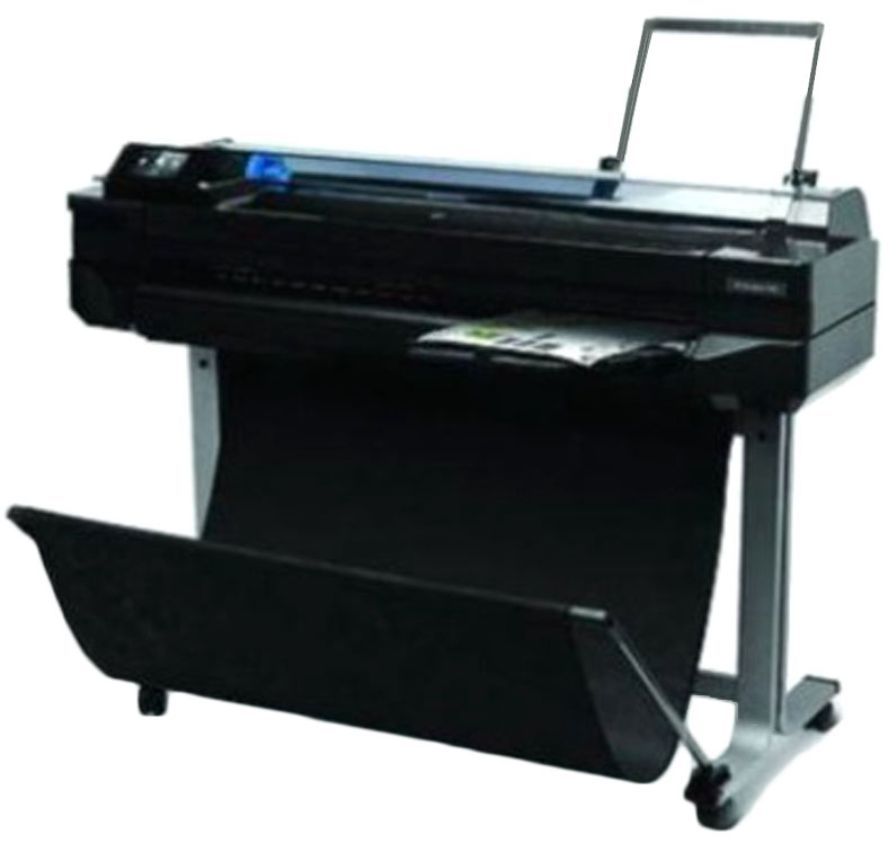 Best price on HP DesignJet T520 Single Function Colored Printer in India