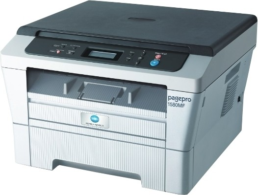 Best price on Konica Minolta 1580MF All-in-One Printer in India