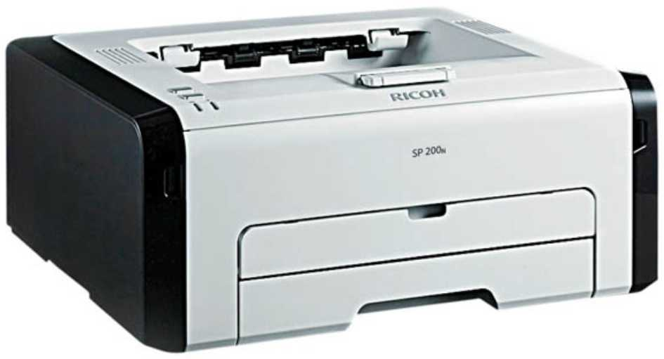 Best price on Ricoh Aficio SP200N Printer in India