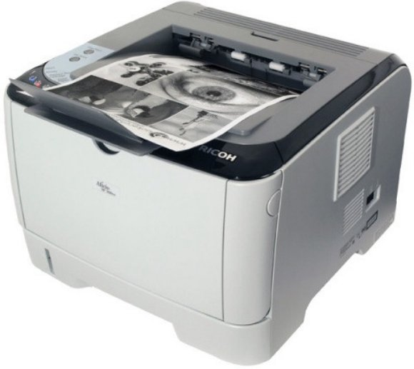 Best price on Ricoh - Aficio SP 300DN Duplex Networking Single Function Laser Printer in India