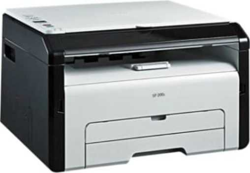 Best price on RICOH SP 200S Monochrome Multifunction Laser Printer in India
